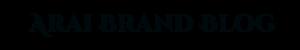 Arai Brand Blog