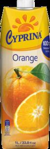 100%オレンジジュース キプロス